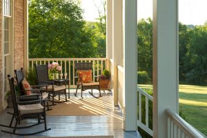 Manor Back Porch