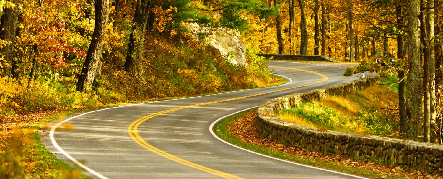 S-Curve Road, Skyline Drive Virginia