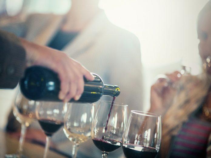 People Enjoying Tastings at One of the Best Vineyards in the Shenandoah Valley